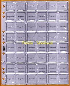 10-buste-fogli-UNI-ECO-per-sistemare-collezione-monete-in-raccoglitore-caselle48