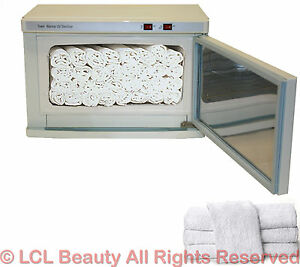 2 in 1 hot towel warmer cabinet uv sterilizer 24 hand towels spa salon equipment ebay - Towel cabinets for salon ...
