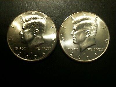 2004 P Mint Issued Kennedy Half Dollar Gem Bu roll