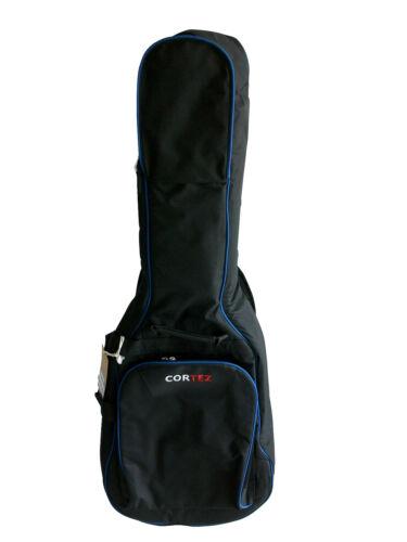 Luxus Gitarrentasche 4//4 Größe in schwarz neu