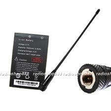 BaoFeng Battery and dual band antenna for UV-3R UV-100 UV-200 UV3R Mark II radio
