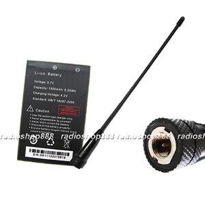 BaoFeng-Battery-and-dual-band-antenna-for-UV-3R-UV-100-UV-200-UV3R-Mark-II-radio