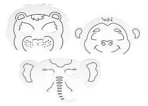 Details Zu Kinder Maske Krone Ausmalen Malen Basteln Geschenk Prinzessin Affe Tiger Elefant