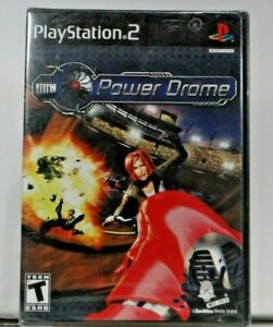 Power Drome (Sony PlayStation 2, 2004) PS2 Game Brand New Sealed Powerdrome