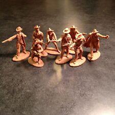 Conte playset TSSD Airfix Marx Austin Miniatures plastic cowboys