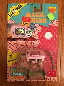 "1988 Matchbox ""PEE-WEE'S PLAYHOUSE"" (Magic Screen) Figure, NEW! SEALED!"