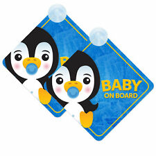 Baby Sloth On Board Twin Pack of Baby on Board Car Signs Boy//Girl Green 2pcs
