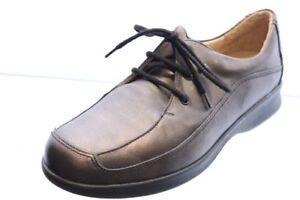 Durea-Schuhe-bronze-Leder-Wechselfussbett-Schuhweite-H-Plus-Gr-39-UK-6