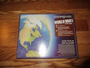 New vintage learning games world war i map game ema ebay image is loading new vintage learning games world war i map gumiabroncs Gallery
