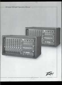 Pictures and images peavey xr 684f audiofanzine.