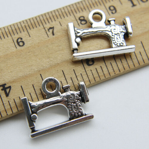 20pcs Sewing Machine Tibet Silver Charms Pendant DIY Jewelry Accessories 16*20mm