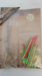 LG-TUBE-FLY-KIT-amp-ATTACHMENT-with-3-sizes-needles-for-Tube-Fly-Tying