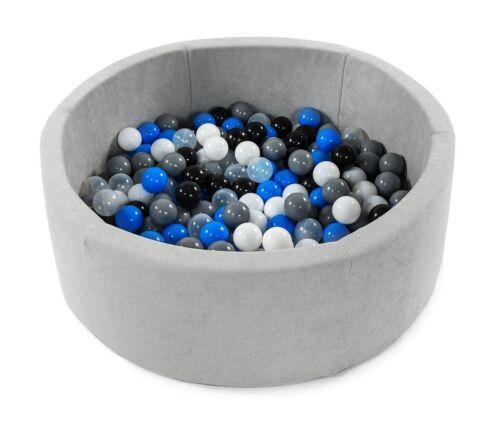 BKOD4 Tweepsy Baby Round Foam Ball Pit with 250 Plastic Balls