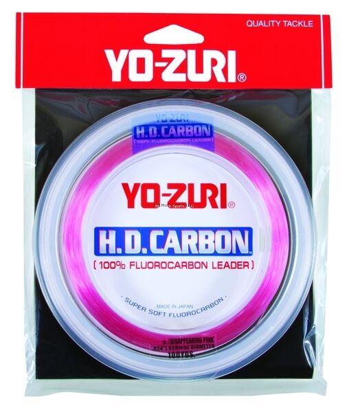 New Yo-Zuri Flugoldcarbon Leader 50Lb 100Yds Spool Pink HD50LBDP100SPL