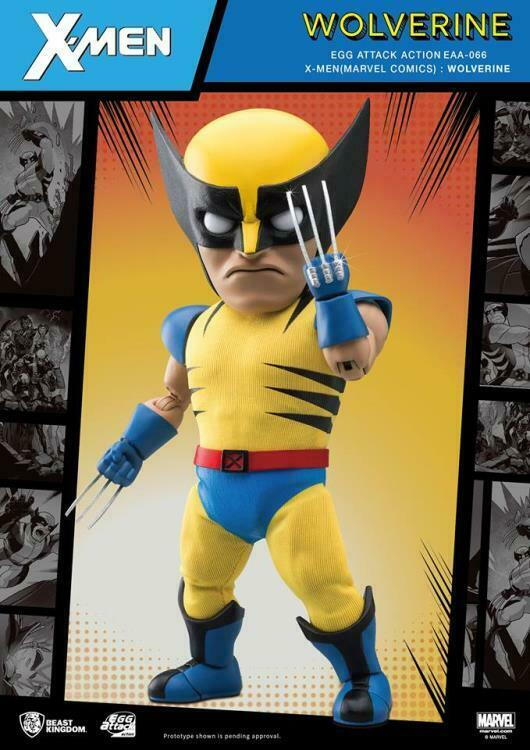 Marvel Comics - Wolverine Egg Attack Figure EAA-066 (Beast Kingdom)