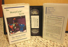 HENRY CYCLE SPECIAL recycling clay cartoon VHS educational Natural Resources