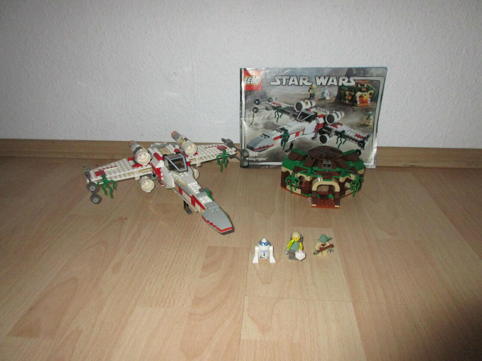LEGO Stern WARS - 4502 X-Wing Fighter mit Figuren und Bauplan