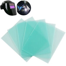 10pcs PC Transparent Clear Welding Helmet Cover Lens Protection Protector Peel
