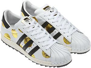 NIB ~ Adidas Jeremy Scott Superstar 80 Ripple Polka Dot zapato gacela