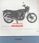 Genuine Honda CB750F2 SOHC (1977-on) Dealers Set-Up Manual CB 750 F F2 FII Four