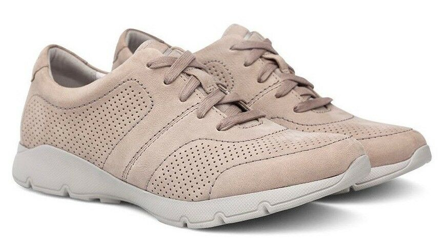 NEW - - - DANSKO Women's 'ALISSA' Taupe MILLED NUBUCK SHOES  - 7.5 TO 8   38 5bfd2b