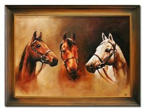 Oil-Painting-Pictures-Hand-Painted-with-Frame-Baroque-Art-G02802