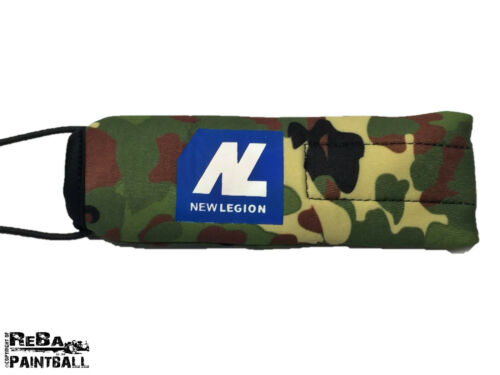 New Legion Laufsocke / Laufkondom - Flecktarn Paintball