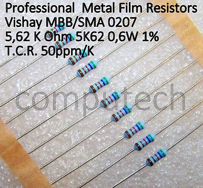 15KOhm 10 pezzi Resistenze metal film 14,7 K Ohm 0,6W 1/% Beyschlag MBB//SMA0207