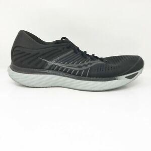 Saucony Mens Triumph 17 S20546-35 Black Running Shoes Lace Up Low Top Size 12