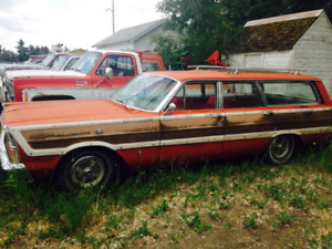 1965 Ford Country Squire station wagon