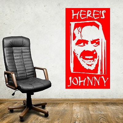 The Shining Jack Nicholson 3D Torn Hole Ripped Wall Sticker Decal Art WT227