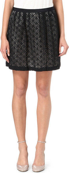 Marc by Marc Jacobs Collage Lace Skirt General Navy Women's 6