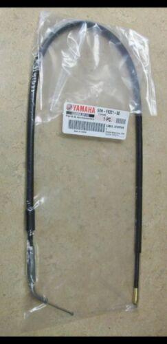 NEW Genuine OEM Choke Starter Cable Yamaha Grizzly Kodiak Bruin YFM 350 400 450
