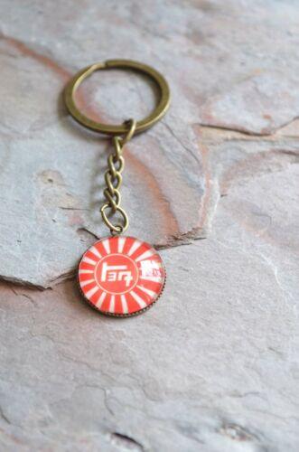 TEQ Rising Sun Toyota Key Chain FJ40 Handmade Gifts Custom Key Chain by Reefmonk