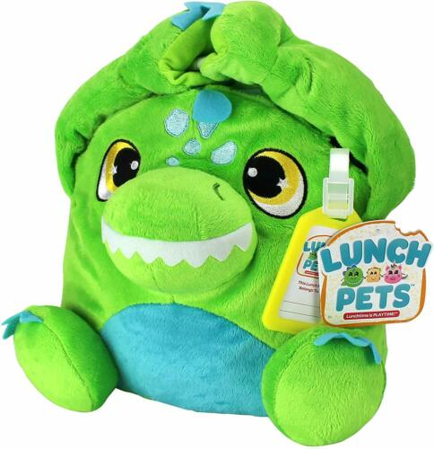 Lunch Pets Insulated Kids Lunch Box As Seen on TV Plush Animal and Lunch Box
