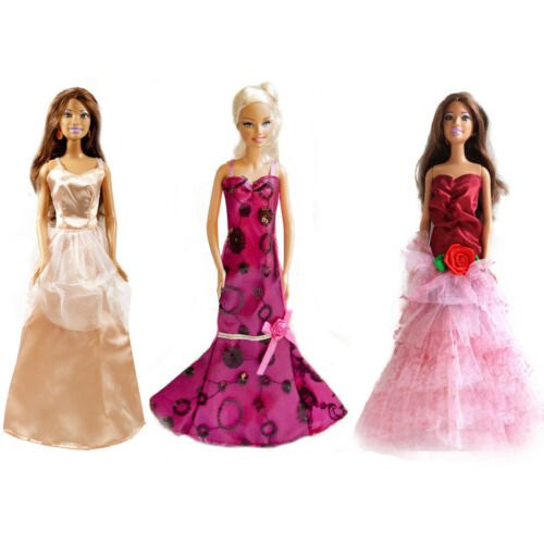 10 shoes for 11.5 inches Dolls 6-pack Wedding Dress Party Gown Clothes Outfits