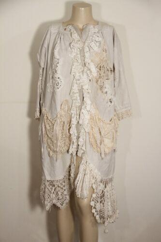 Magnolia Vintage gehaakte kant met Pearl jas Duster Hand EHbeID92YW