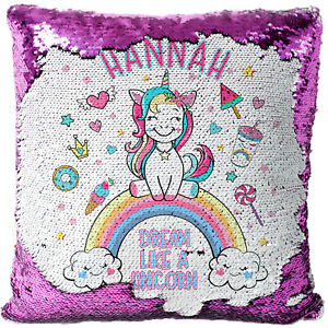 Personalised-UNICORN-Sequin-Cushion-Cover-Magic-Reveal-Glitter-Pillow-MC014