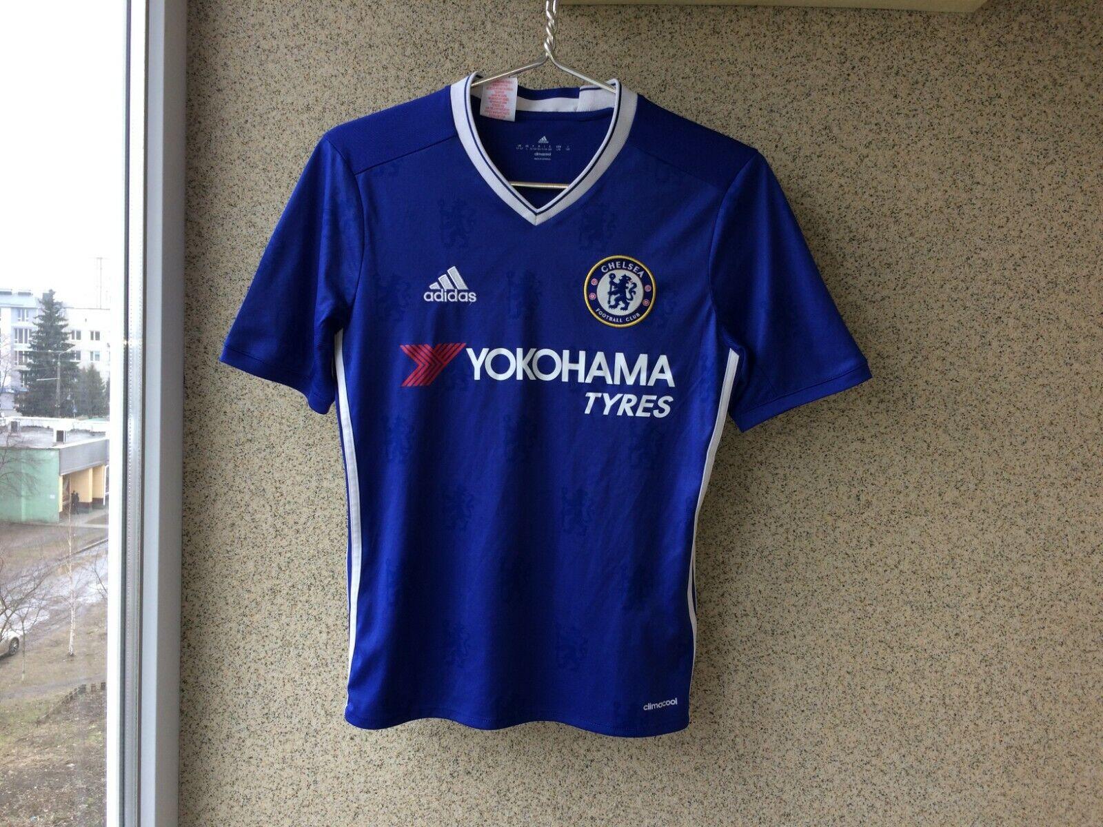 2016 Home football shirt M Adidas Soccer England Chelsea 2017 ... eab45d873