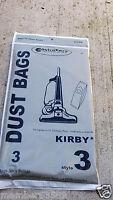 Vacuum Cleaner Bag Style 3 Bag Fit Kirby Heritage Ii, Legend And Legend Ii 2hd