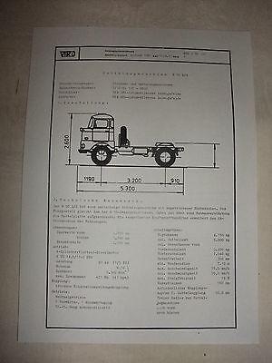 Sammeln & Seltenes Literatur Verantwortlich Ddr Werbung Reklame Prospekt Datenblatt Sattelzugmaschine W 50 L/s Veb Ifa 1981 Guter Geschmack
