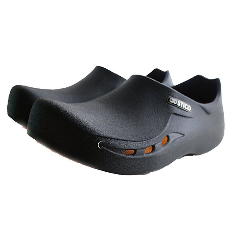 STICO  Uomo Occupational Chef Kitchen Slip Resistant Safety Rubber Occupational Uomo Schuhes NEC03H 3f6aac