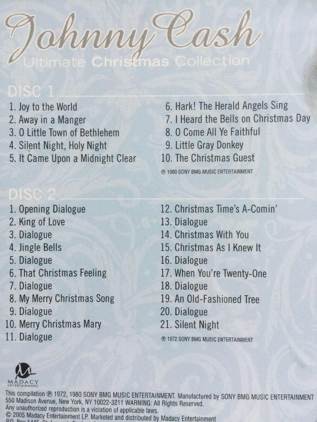 Ultimate Christmas Collection [Slipcase] by Johnny Cash (CD, Jul ...