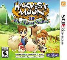 Harvest Moon: The Lost Valley [Nintendo 3DS, NTSC, Farm Life Simulation RPG] NEW