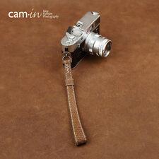 Cam-in  Deep sea fishskin wrist band for Fuji micro single camera Leica 2091-2