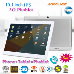 10,1 POLLICI QUADCORE ANDROID 6,0 16GB 3G WiFi Tablet PC PAD Dual SIM SMARTPHONE
