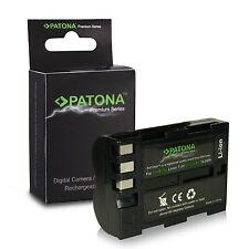 batteria per nikon D90 D80 D70 D50 D100 en-ele3 en-el3e patona premium 2000 mah