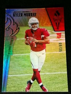 RC /35 KYLER MURRAY SSP REFRACTOR *BASE ROOKIE #52 2019 Panini Passing the Torch