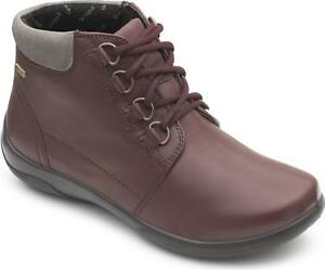 Padders-JOURNEY-Ladies-Womens-Leather-Extra-Wide-2E-3E-Ankle-Boots-Bordeaux