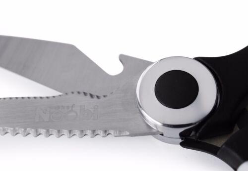 Professional Multifunctional Cooking Scissors Chef NOOBI Premium Kitchen Shears